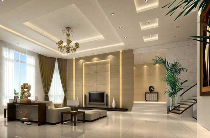 Mẫu trần bằng thạch cao cho phòng khách sạn