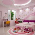 Mẫu trần vách thạch cao phòng ngủ trẻ em đẹp