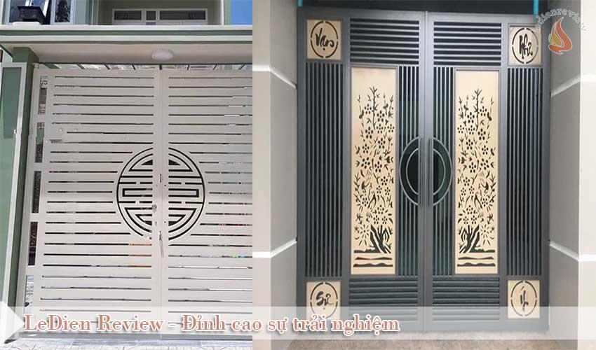 Cửa Cổng Sắt Đẹp Cho Bạn Tham Khảo