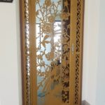 mẫu cửa sắt 1 cánh cửa chung cư