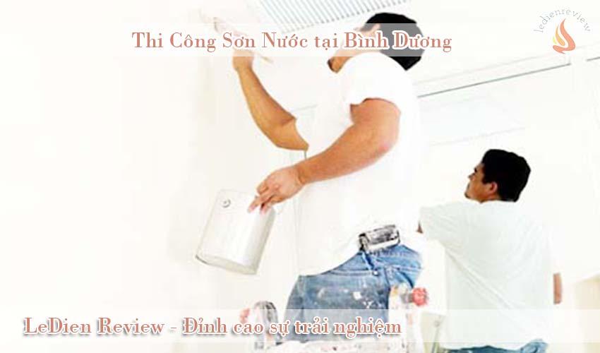 Báo giá thi công sơn nước tại Bình Dương