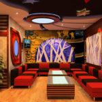 Mẫu trần thạch cao phòng hát karaoke đẹp