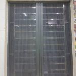 Mẫu cửa lưới chống muỗi dạng xếp