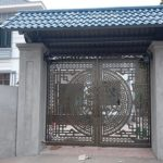 Mẫu cổng sắt CNC mỹ thuật đep nhất